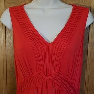 Cable & Gauge red sleeveless dress, M
